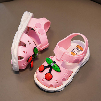Letnie dziecięce buty 2021 dziecięce buty dziecięce plażowe sandały maluch dziewczynek buty dla chłopców owocowe sandały buty kapcie sandały tanie i dobre opinie Skóra bydlęca 13-24m 25-36m 4-6y 7-12y 10 5cm 11cm 12cm 13cm 14cm 15cm CN (pochodzenie) Lato Sportowe sandały Dziewczyny