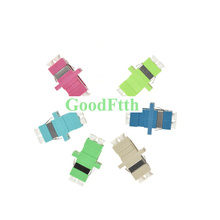 Fiber Optic Adapter Adaptor Coupler LC-LC Duplex Zirconia Ceramic Sleeve SC footprint GoodFtth 100pcs/lot цена и фото