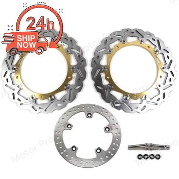 For Bmw R1200GS ADVENTURE 2013 2014 Front Rear Brake Disc Disk Rotor Kit Motorcycle Replacement Part R 1200 GS R1200 1200GS GOLD