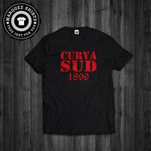 Camiseta curva sud 1899 milano ac milan ultras tiposi t