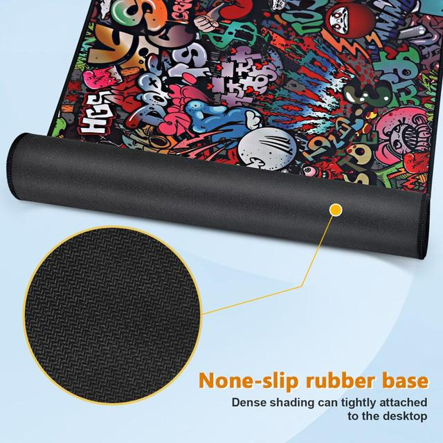 Gaming Mouse Pad Gamer Mousepad XXL Mouse Mat Large Desk Mat Computer Keyboard Game Play Mat Mause Carpet Gaming Mouse Pad 4