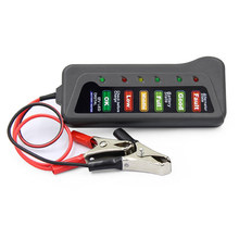 12V Auto Batterie Tester Digitale Lichtmaschine Tester 6 Led-leuchten Display Auto Diagnose Werkzeug Auto Batterie Tester Auto Zubehör(China)