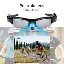 Mini cámara Digital DVR con grabador de gafas de sol para deportes ocultos, Cámara de Acción HD, gafas de Audio y Video, gafas de sol