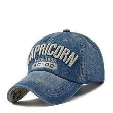 Gorra de béisbol de Bordado de letras 3D de Capricornio para hombre y mujer, gorras de Golf y deportes al aire libre, sombrero de camionero Universal, novedad