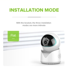 Baby Monitor Wifi Indoor Surveillance Camera 1080P HD Monitor, 2 Million Pixels, Maximum Support 64GB