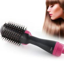 Щетка для волос, Парикмахерская плойка, фен и объемный генератор отрицательных ионов, выпрямитель для волос, инструменты для укладки, Прямая поставка