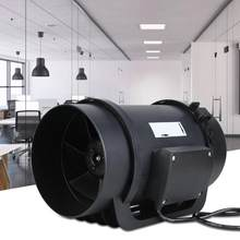 Gebläse 6.3in EC Motor Ventilation Exhaust Fan Duct Fan PWM Speed Controller 470CFM AC100-240V(China)
