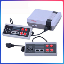 Retro Video Game Console Built-in 620 Games Classic 8bit Family TV Game Console AV Output with Dual Controllers for Child Gifts