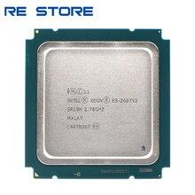Intel xeon e5 2697 v2 2.7GHz, 30M QPI 8GT/s, LGA 2011 SR19H, C2 e2 2697v2, processeur dunité centrale 100%, travail normal