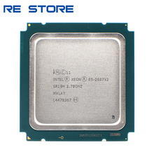 used Intel xeon e5 2697 v2 2.7GHz 30M  QPI 8GT/s LGA 2011 SR19H C2 E5 2697v2 CPU Processor 100% normal work