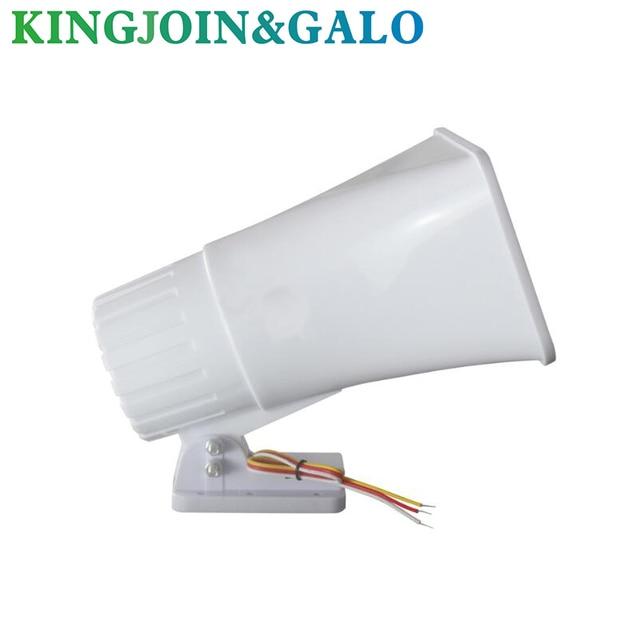 12v bocina de alarm 30W horm para alarm de seguridad bocina 150DB bocina de sirena system alarmowy de incendios bocina