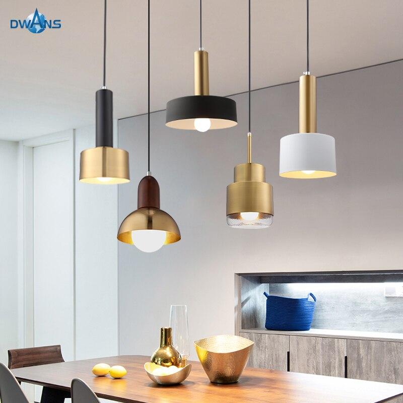 Pendant Lights Modern For Kitchen Nordic Warm Light Luxury Design Vintage Bedroom Living Room Led Chandelier