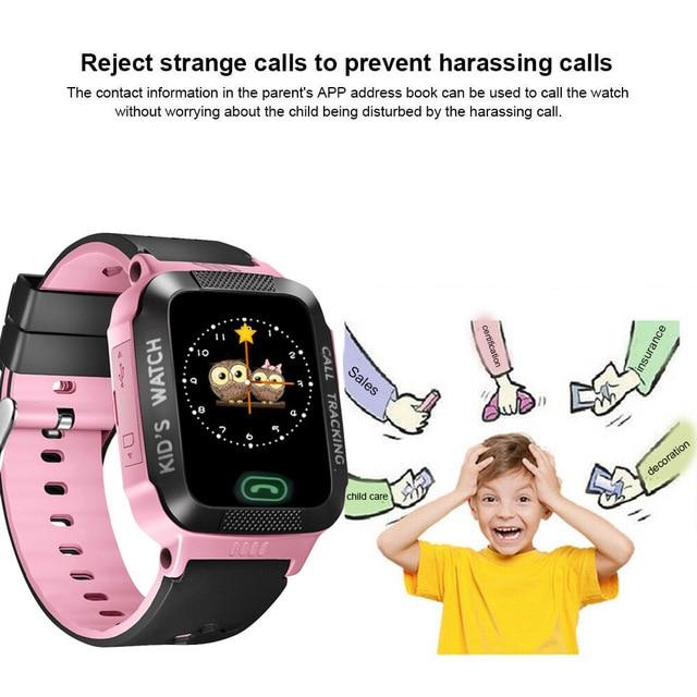 Children Touch Color Screen Smart Watch Remote Camera 4