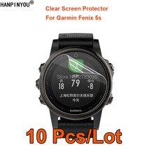 10 шт./партия для Garmin Fenix 5s SmartWatch прозрачная глянцевая Защитная пленка для экрана(не закаленное стекло