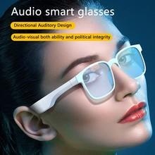 Fashion Audio Glasses Bone Conduction Smart Headset Sweatproof Wireless Bluetooth Handsfree Open Ear Polarized Music Sunglasses