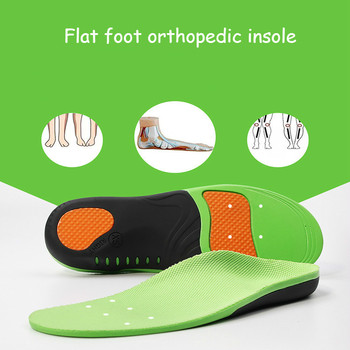 Orthopedic Insoles For Shoes Soles Inserts Flat Foot Arch Support Foot Vargus Valgus Corrector Shoe Insole Pad Inlegzolen Eva image