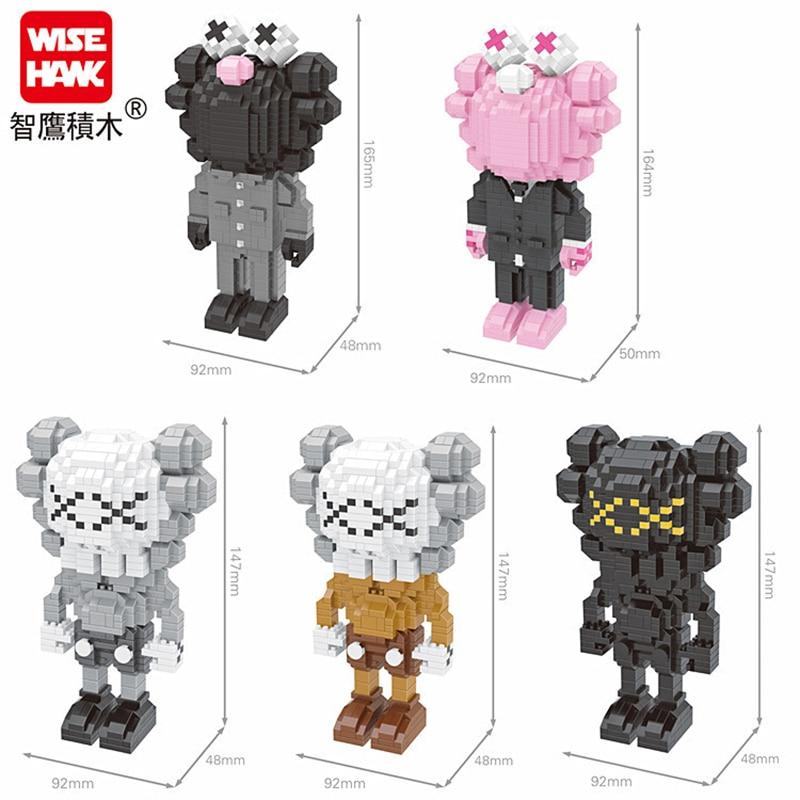 Weagle Mini Building Blocks Cartoon Mirco Brick Model Games Toys For Collection Block 2564-2568