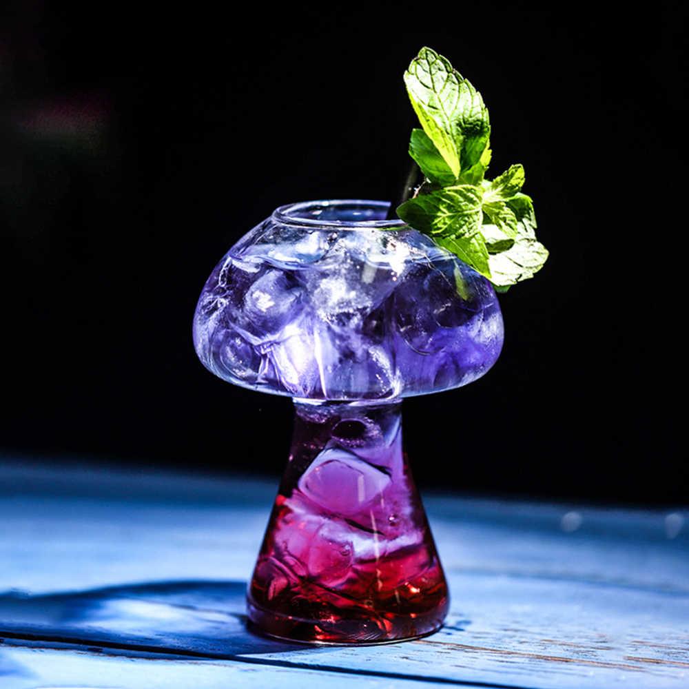 Grzyb koktajl szkło molekularna gastronomia Bar rektyfikacja barman specjalne piwo kieliszki do wina czara Cooler Cup