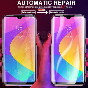 Image 4 - 20D Full Cover Hydrogel Soft Film On The For Xiaomi Mi 9 SE 8 Pro A3 Lite A2 A1 CC9 CC9E Pocophone F1 Screen Protector Not Glass