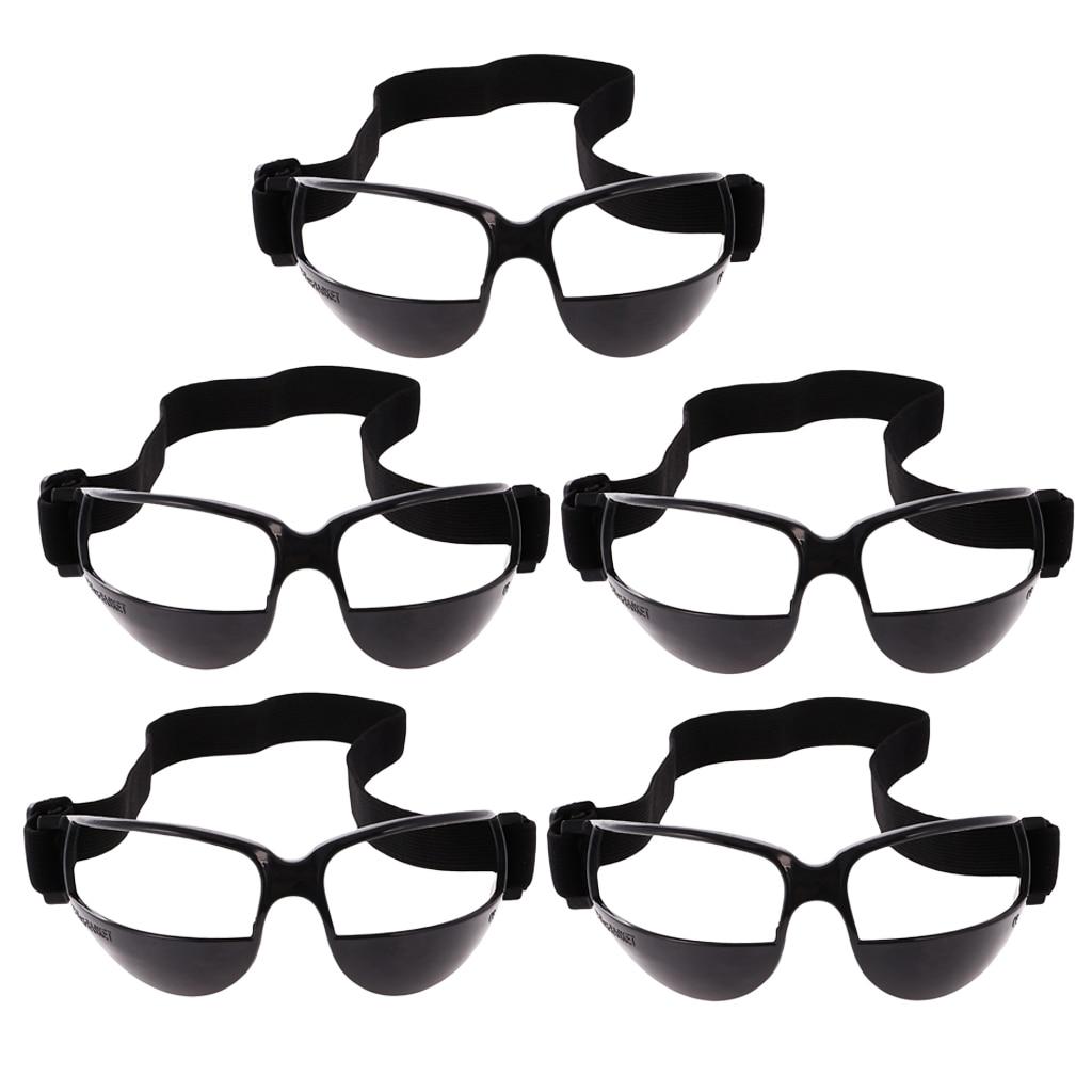 5Pcs Sports Basketball DRIBBLE Specs GOGGLES Glasses Eyewear TRAINING AID