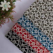 Retro two-color lace fabric flower cloth men and women professional clothing handmade tie skirt hug pillowcase