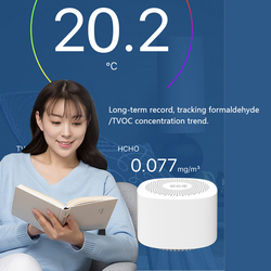 Detector de dióxido de carbono co2 qualidade do ar testador formaldeído detector de alta sensibilidade máquina de testes de formaldeído interior