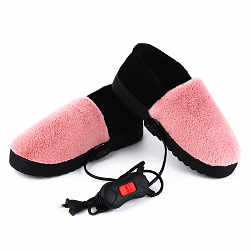 220V Electric Heater Heating Shoes Temperature Control Heater Electric Foot Warmer Heating Shoes Foot Hand Warmer Heating