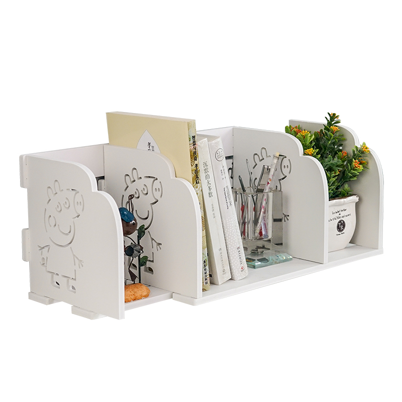 Flexible Bookshelf Children Student Small Bookshelf On The Table Book Bookends Accept Frame Simple And Easy Desktop Bookcase