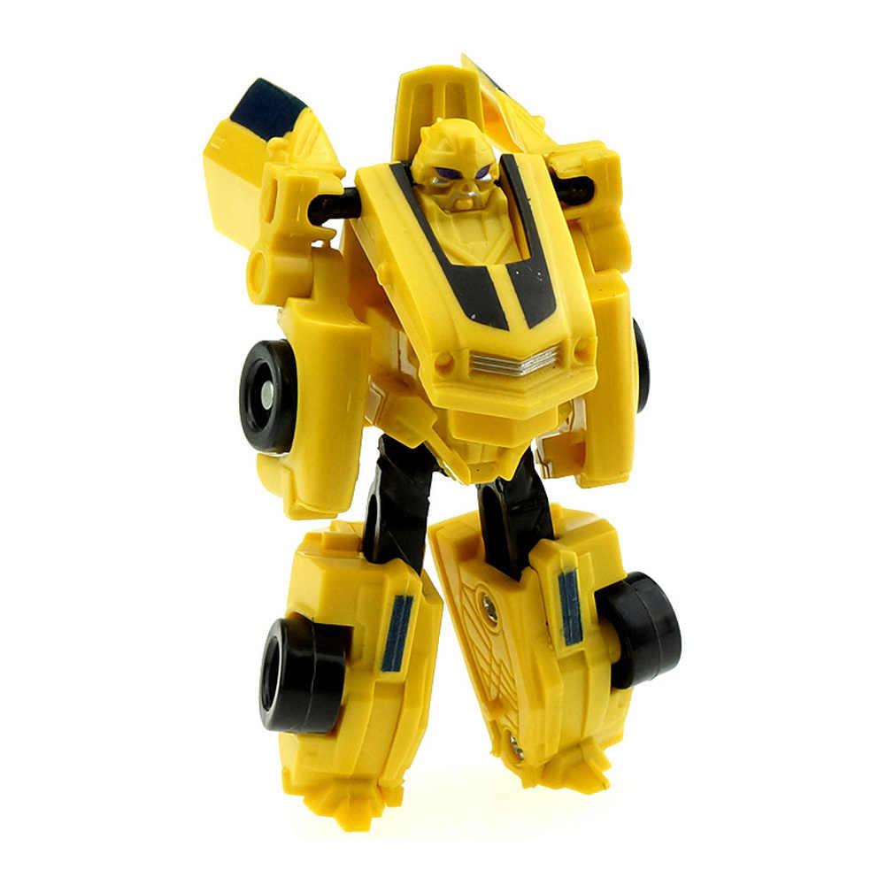 שינוי ילדים קלאסי מצחיק רובוט מכוניות צעצועים לילדים פעולה & צעצוע דמויות מותמרים רובוט צעצוע לילדים מתנות קיד