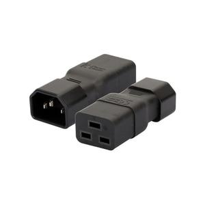 Image 5 - PDU PSU APC UPS IEC C14 ذكر إلى C19 قابس مهايئ غرفة الحاسب خادم تحويل الطاقة وعاء محول تحويل مقبس التوصيل