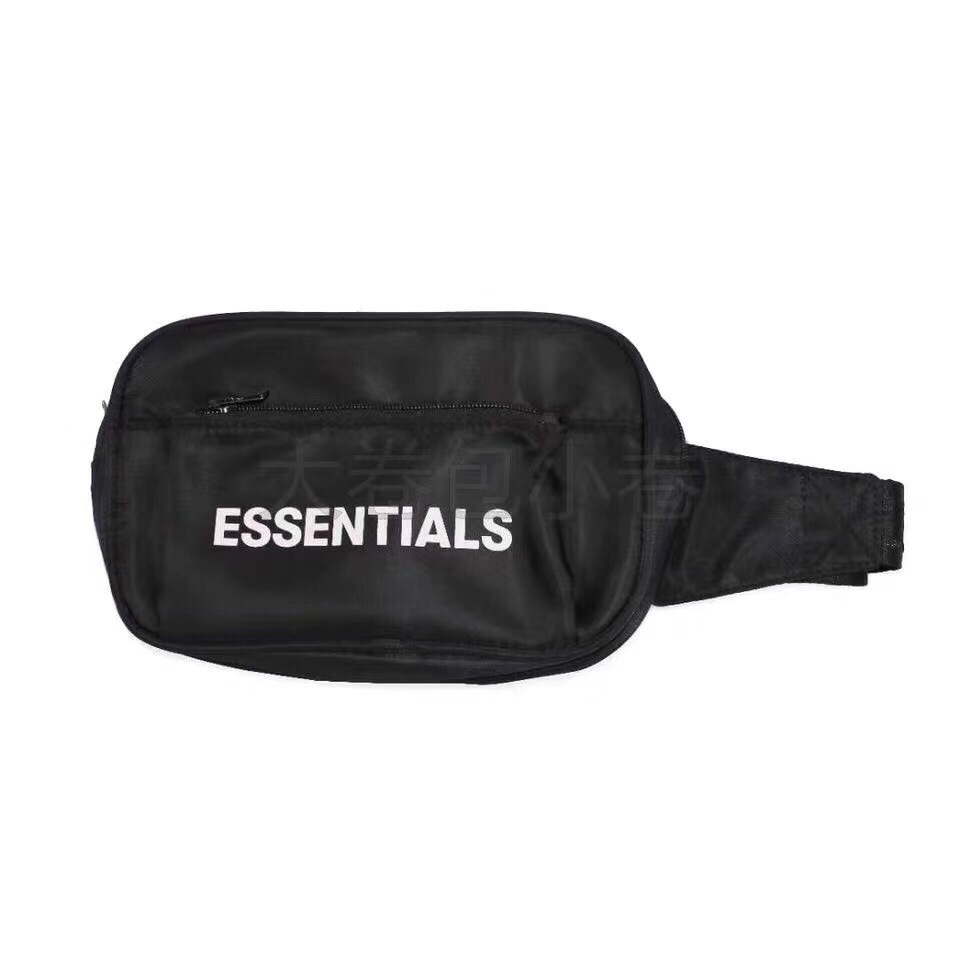 2019 Best Quality FG ESSENTIALS Logo Print Women Men Unisex Waistbag Bags Hiphop Streetwear Men Casual Bags Waist Packs