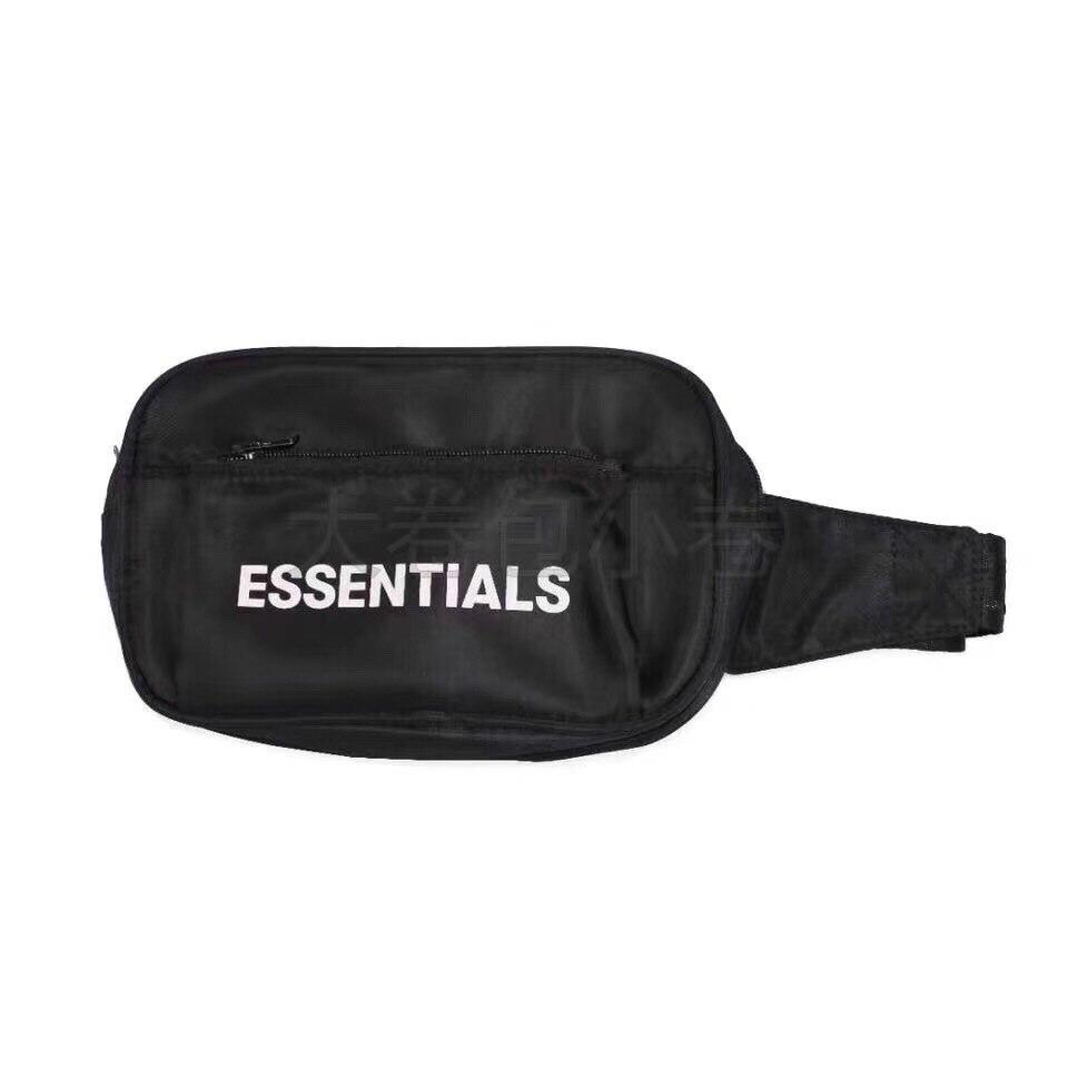 2019 Best Quality FG ESSENTIALS Logo Print Women Men Unisex Waistbag Bags Hiphop Streetwear Men Casual Bags Waist Packs