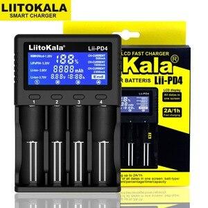 Image 3 - Liitokala cargador de batería de Lii 500, Lii PD4, 2020, 18650, 21700, AA, AAA, para 26650, 18350, 18500, 16340, 17500, 25500, 10440