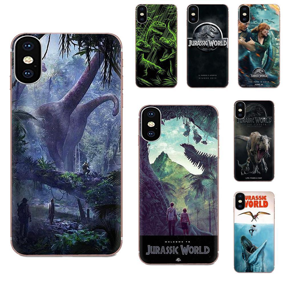 Jurassic Park Dinosaur Jurassk World For Motorola Moto G G2 G3 G4 G5 G6 G7 Plus For Xiaomi Redmi Note 8 8A 8T 10 K30 5G