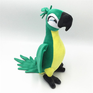 Image 5 - New Cute Rio Parrot Plush Toy  Stand up Parrot Doll Toy Stuffed Macaw Plush Bird Toys 4 Colors