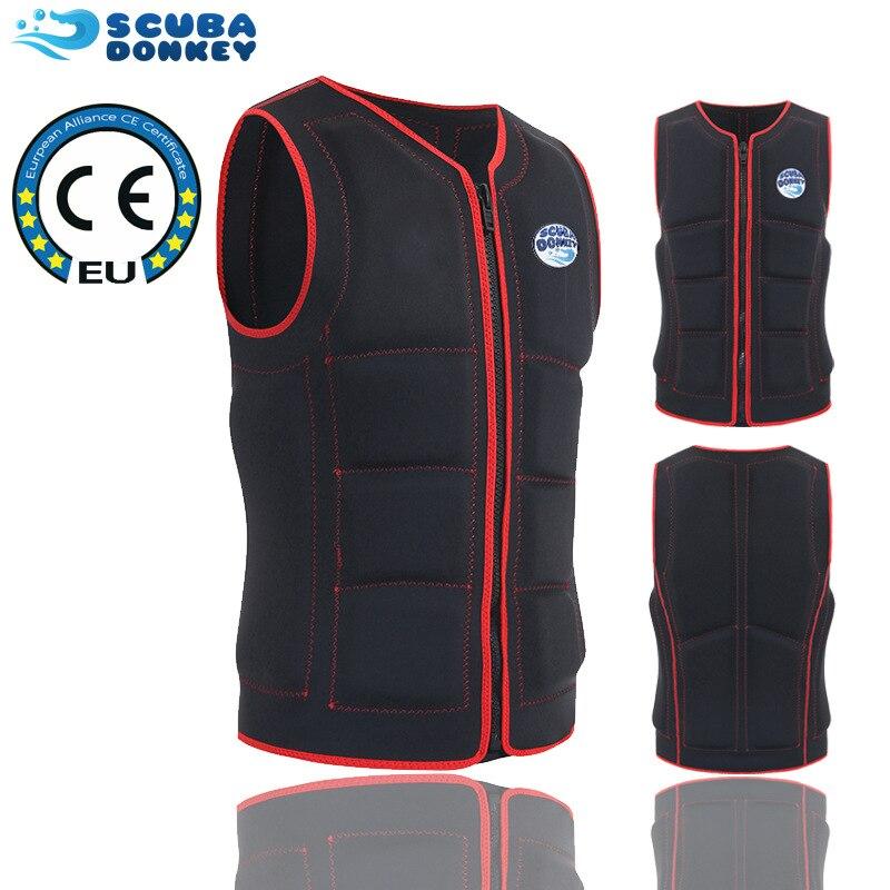 Haisheng New Style Large Buoyancy Life Jacket Swimming Super Elastic Vest Rafting Surfing Portable Foldable Life-saving Vest Clo