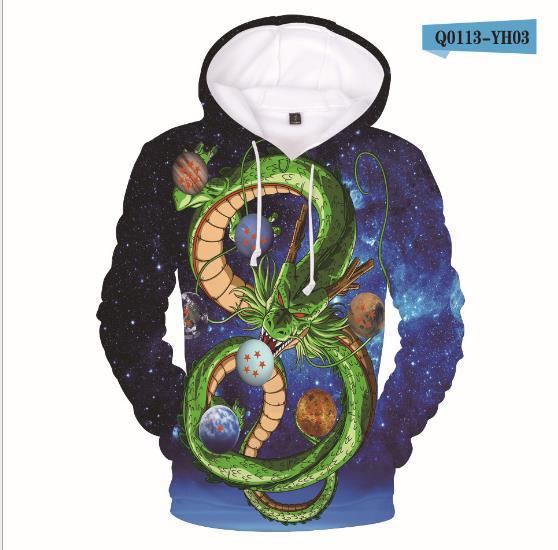 Hip Hop Dragon Ball Kid's 3D Hoodie Children Print Casual Dragon Ball Sweatshirt Sweatshirt Cool Coat
