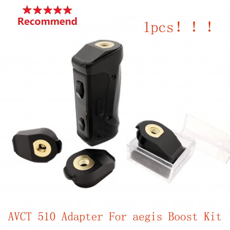 Vape Accessories AVCT 510 Adapter For Aegis Boost Kit Electronic Cigarette DIY Connector