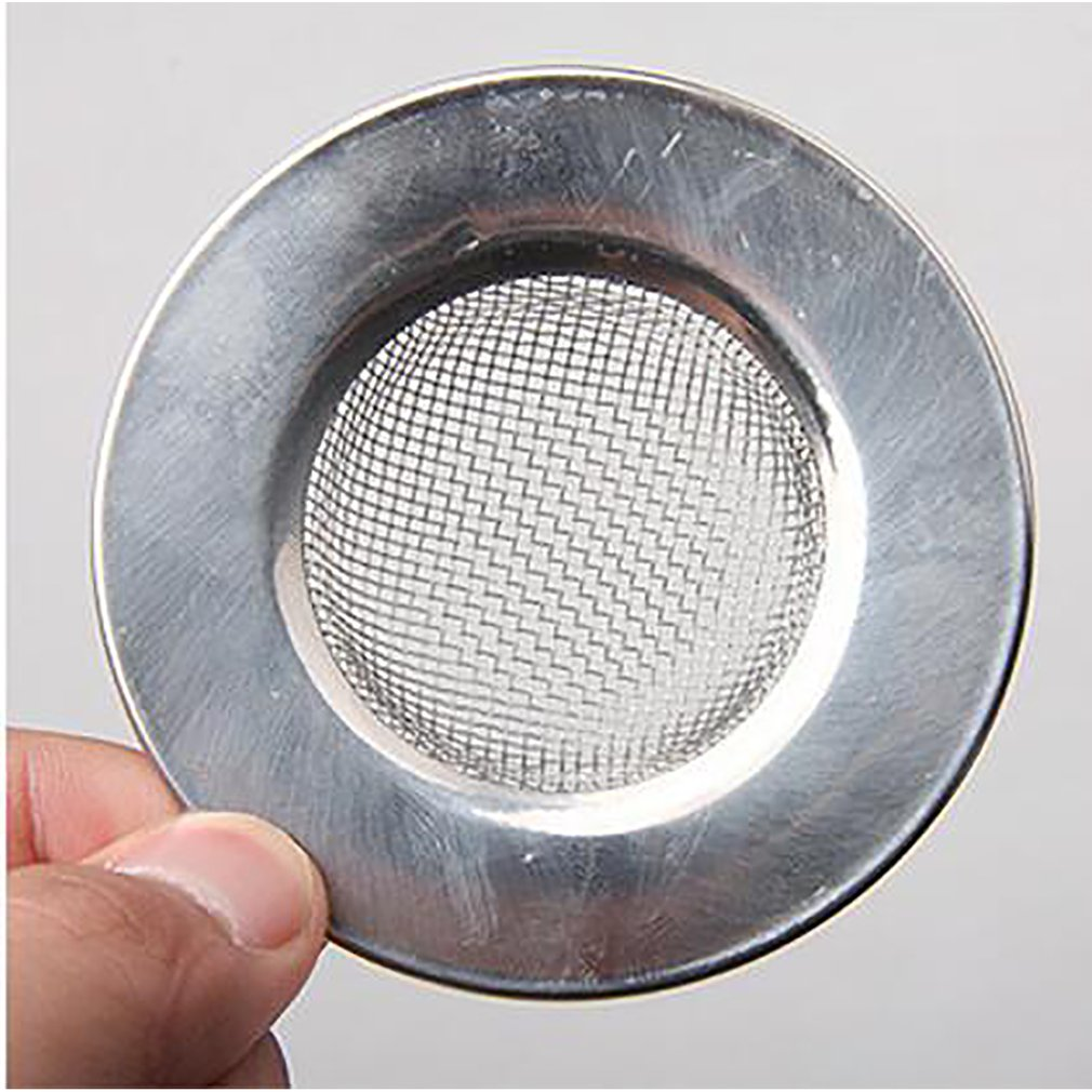 Sink Strainer For Shower Plug Hole Hair Catcher Bath Or Kitchen Sinks Stainless Steel Sink Drain 7.5Cm