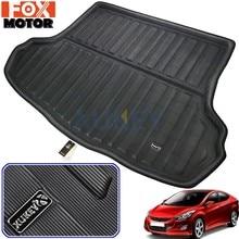 Tapis de doublure de coffre arrière, protecteur de tapis de plancher pour Hyundai Elantra Avante I35 Sedan 2011 2012 2013 2014 2015