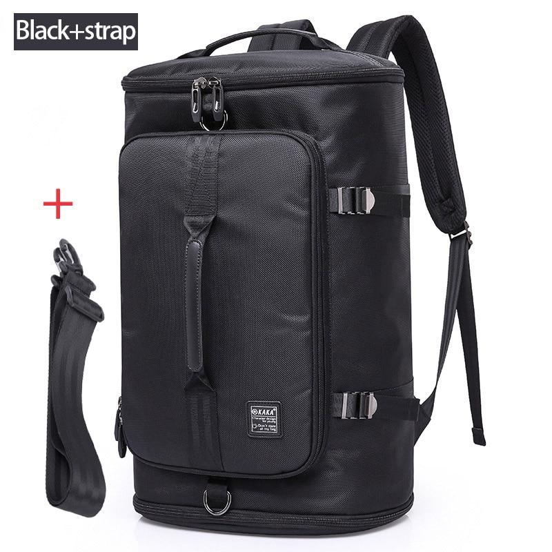 KAKA 40L Men Backpack 15.6 Laptop bag Shoes Backpack Travel Sports Fitness Bags For Women Teenagers School Bagpack Rucksack
