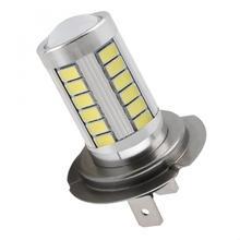 цена на H4 H7 Car  Singal lamp Led Fog light Bulb Headlight Car Accessories  Car LED lamp  5630 33SMDLED Auto Car Fog Driving Light