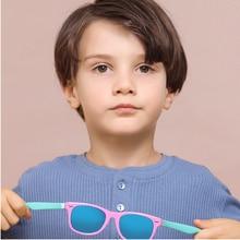 2021 New Trend Children's Rice Nail Polarized Sunglasses Fashion Boys And Girls Color Film Silicone Sun Glasses UV400 Zonnebril