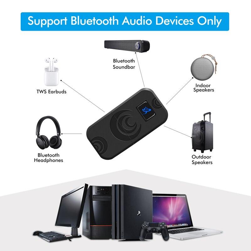 Bluetooth беспроводной адаптер передатчик конвертер для kingd переключатель наушников гарнитура PS4 аксессуары для ПК USB приемник адаптер