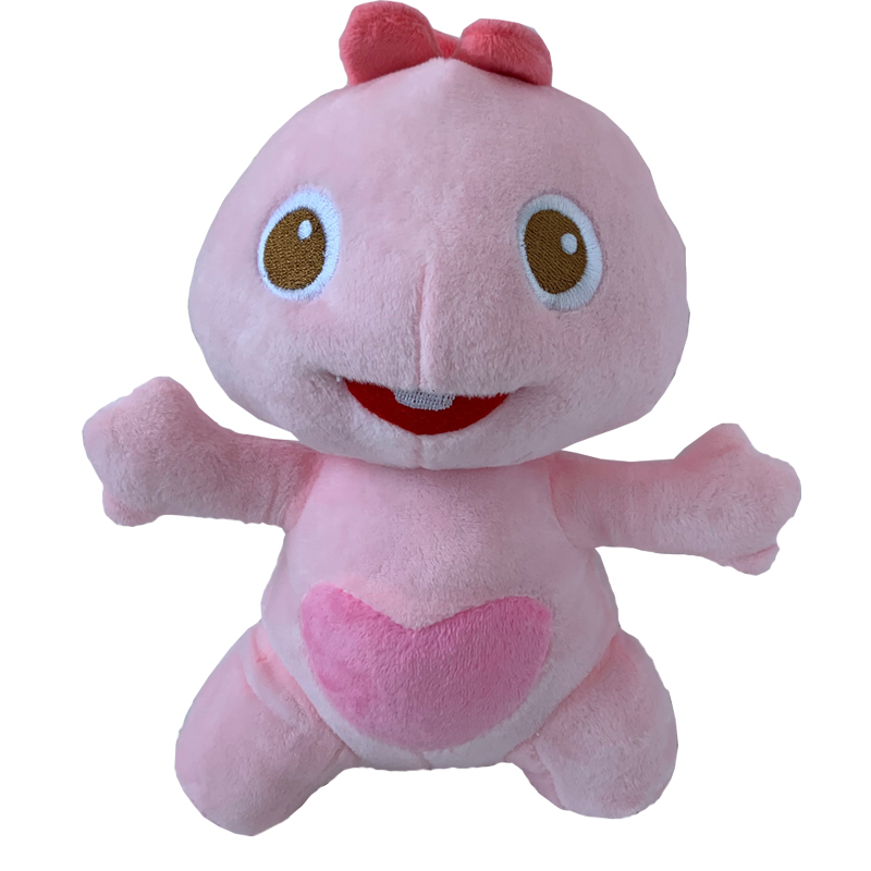 Top Quality Authentic Dino VIPKID Characters Dino Family Member Dino's Sister Plush Toy