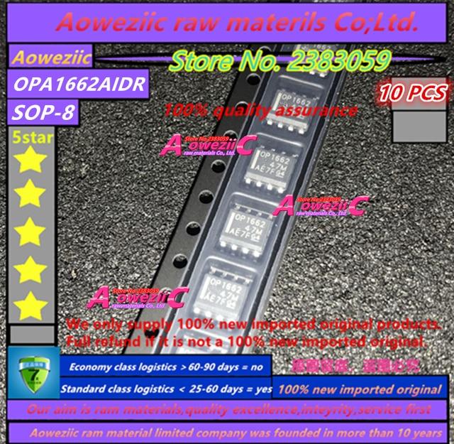 Aoweziic 100% 新インポート元の OPA1662AIDR OPA1662A OP1662 OPA1678IDR OPA1678 OP1678 OPA1688IDR OPA1688 O1688A sop 8
