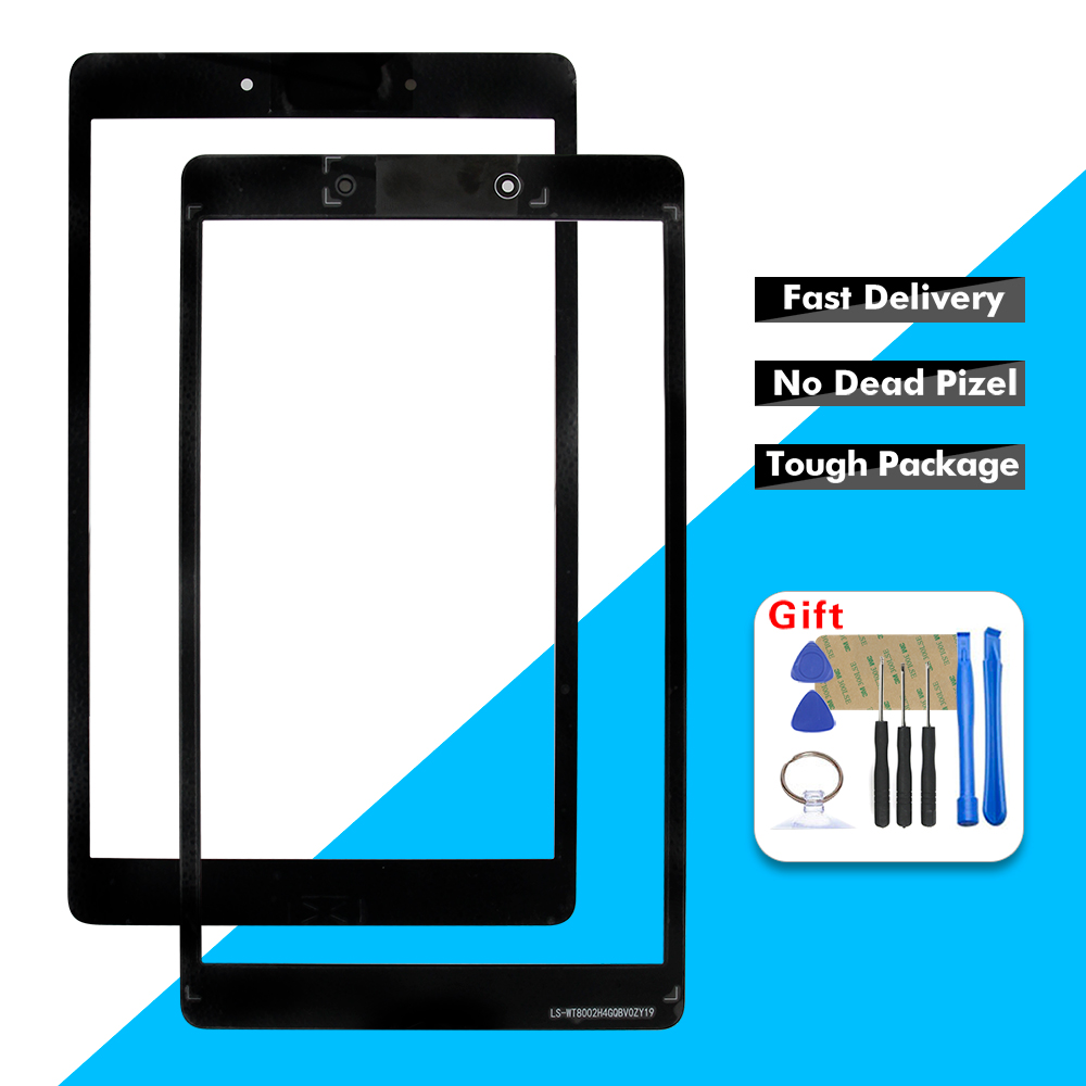 For Samsung Galaxy Tab A 8.0 2019 SM-T290 SM-T295 T290 T295 Touch Screen Digitizer Glass Panel