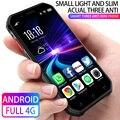 Soyes S10 3G 32G водонепроницаемый мини-смартфон Android 6,0 MTK6737 1800 мАч Soyes XS мобильный телефон распознавание лица отпечаток пальца
