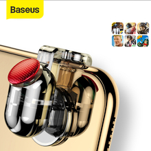 Baseus עבור Pubg משחק Gamepad L1 R1 Gamepad הדק עבור iPhone XR Xs מקס המטרה אש כפתור עבור 4.0 6.5 אינץ נייד טלפון Accesorios