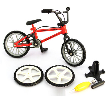 NEW mini BMX Finger Mountain Bikes toy for children Retail Packaging mini-finger-bmx Bicycle Creative Game Gift 2020 ship from germany 20 bmx student kids children bicycle bike mountain biking off road bikes christmas gift